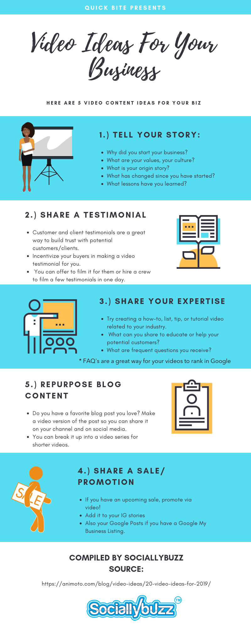 Video tips for your Small Business