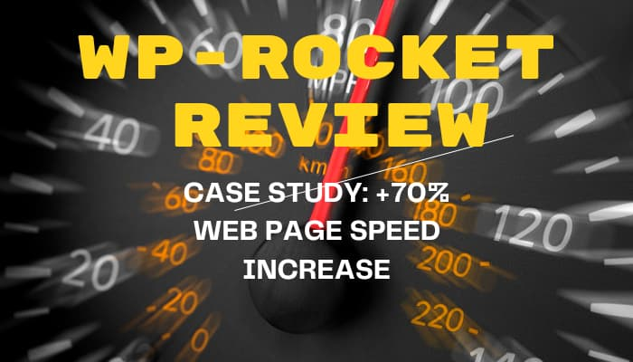 WP rocket review and case study of how we increased our websites page speed
